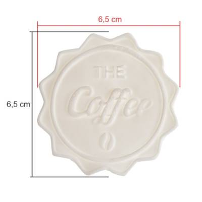 TAGS BISCUIT THE COFFEE 6,5CM
