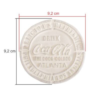 TAGS BISCUIT COCA COLA 9,5CM