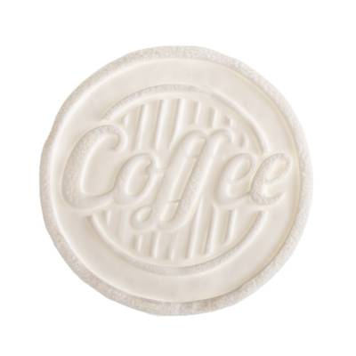 TAGS BISCUIT COFFEE 9 CM